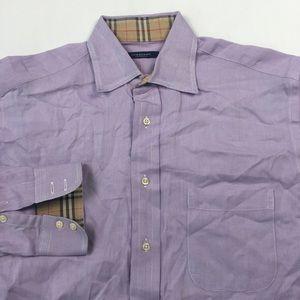 Burberry Mens Dress Shirt 14.5 C2407